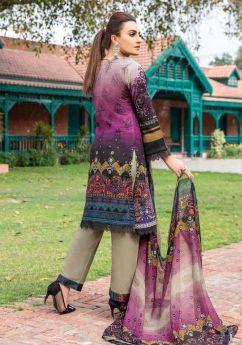 Munira Lawn Chiffon Dupatta 07