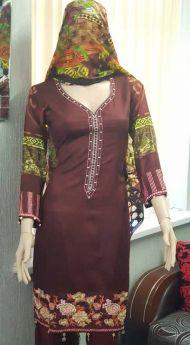 Linen suit Chiffon Dupatta 19