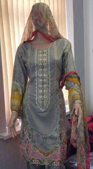 Linen suit Chiffon Dupatta 21